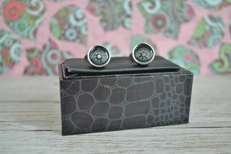 Dobell compass cufflinks