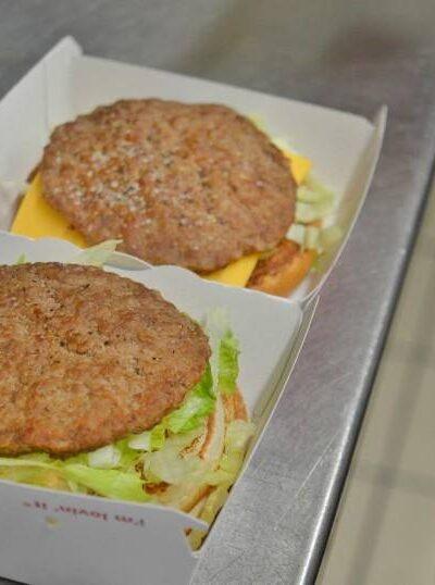 McDonald's buger