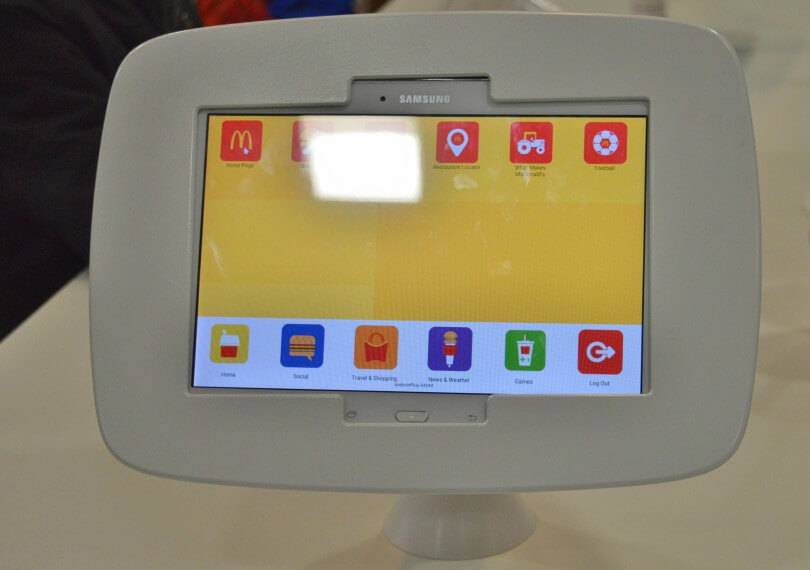 McDonald's screen for kids