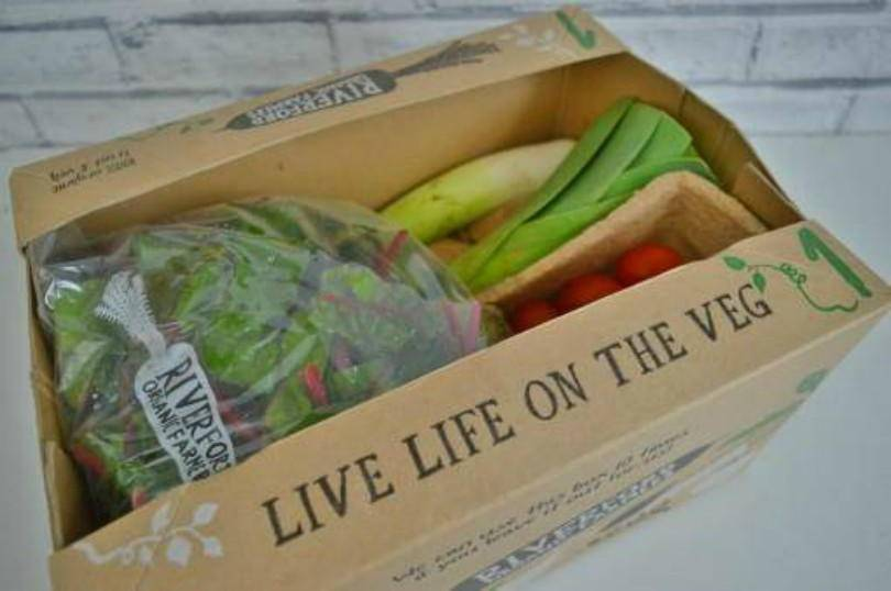 Riverford vegetable box