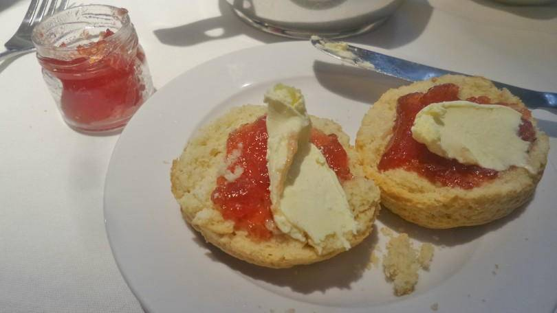 Scones at Vermont Hotel Newcastle afternoon tea