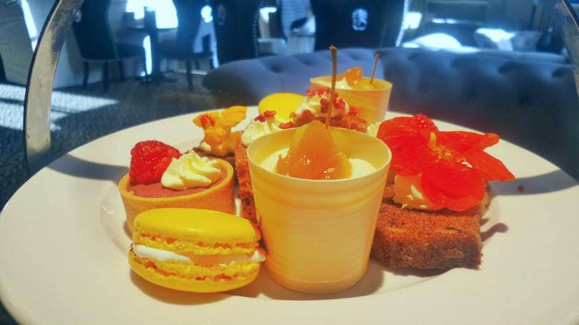 Cakes which are part of afternoon tea at the Vermont Hotel Newcastle