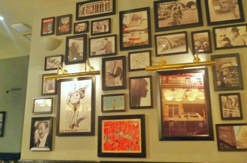 Inside Cafe rouge newcastle