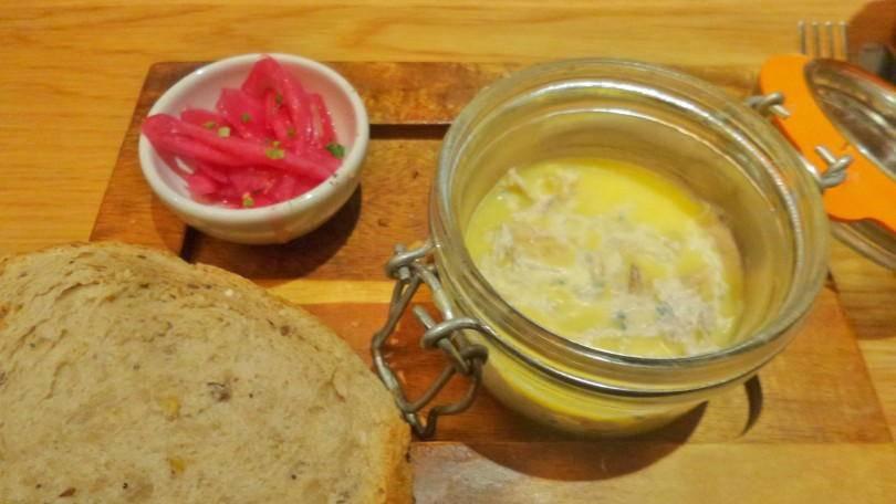 potted mackerel starter at Cafe Rouge