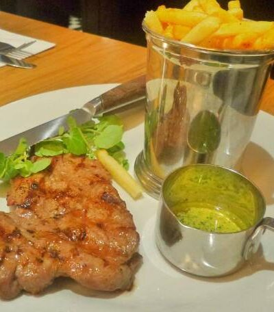 steak frites from Cafe Rouges seasonal menu