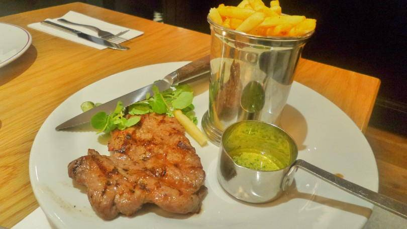 steak frites from Cafe Rouges seasonal menu