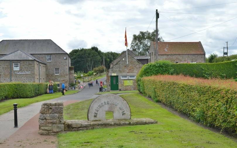 The village of Heatherslaw