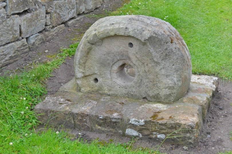 Heatherslaw mill stone