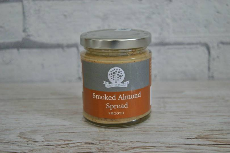 smoked almonds spread from Natural World Butters