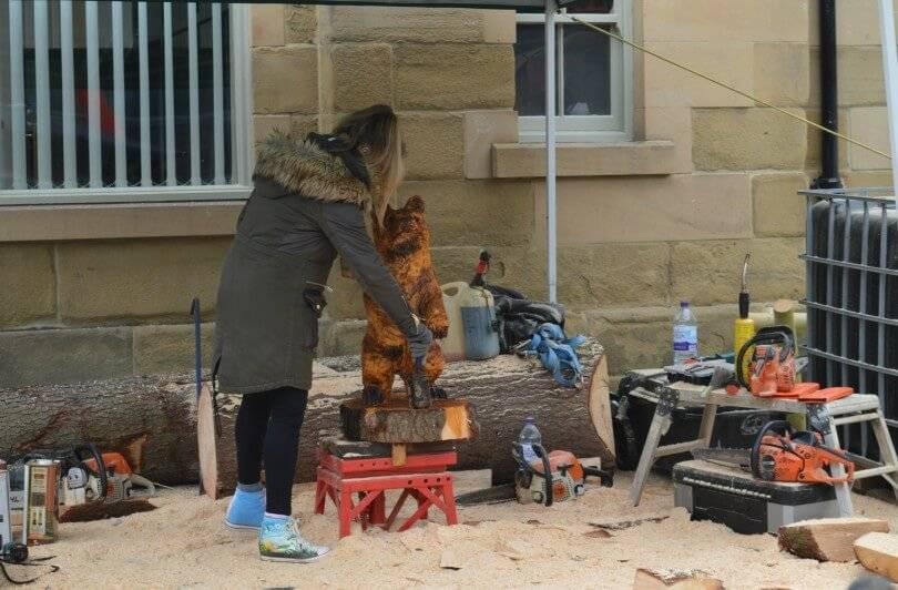 Maker Faire 2018 - Sherwood Carving