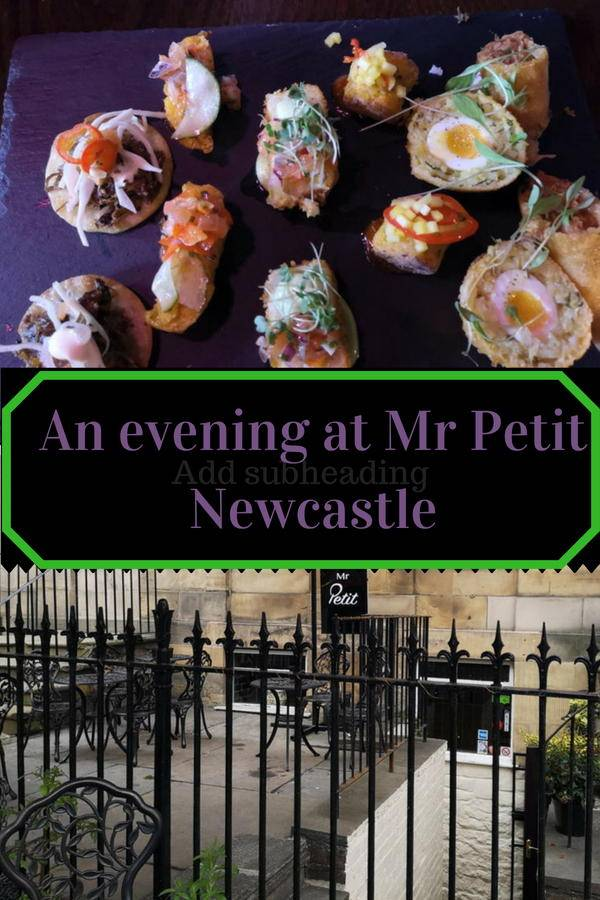 Eating out at Mr Petit, Newcastle Upon Tyne. This restuarant serves world tapas and is a cosy and unique dining experience. Click though to find out more