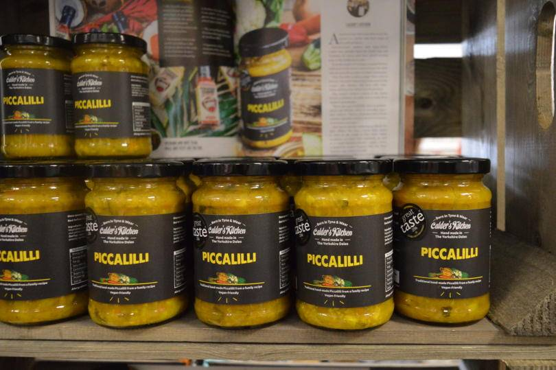 Calders Farm Piccalilli at Living North LIVE