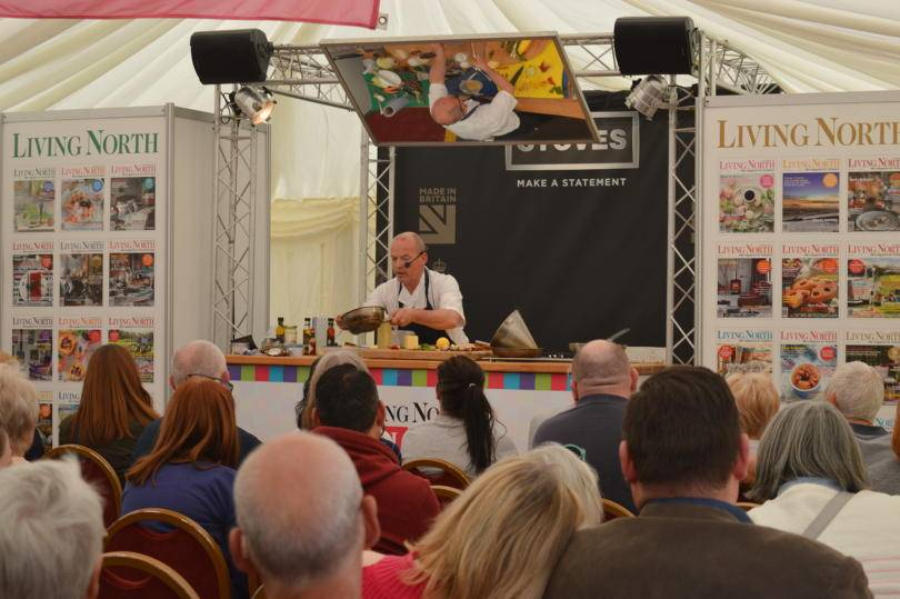 Living North LIVE chef demonstrations