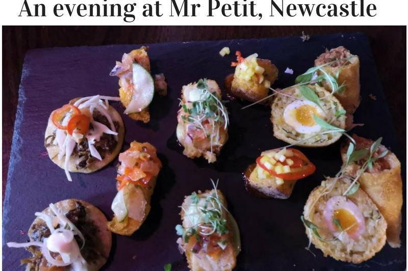 eating at Mr Petit