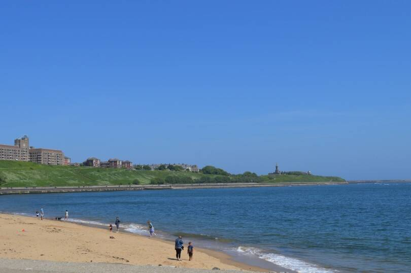 View from old low light north Shields