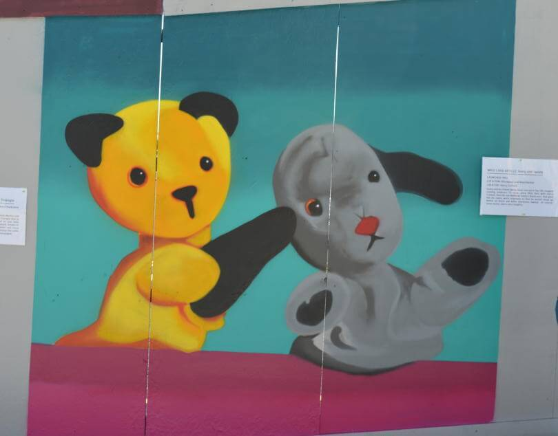 Sooty and Sweep - Fifty Northern Icons - Greate Exhibition of the North