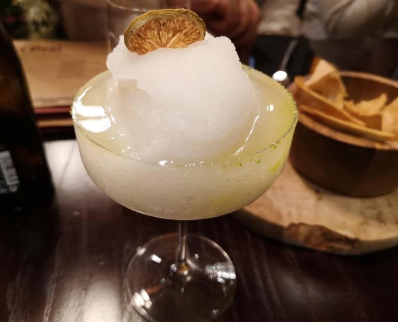 Frozen margarita at El Paso Jesmond