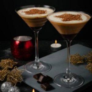 Shaken udder chocolush cocktail