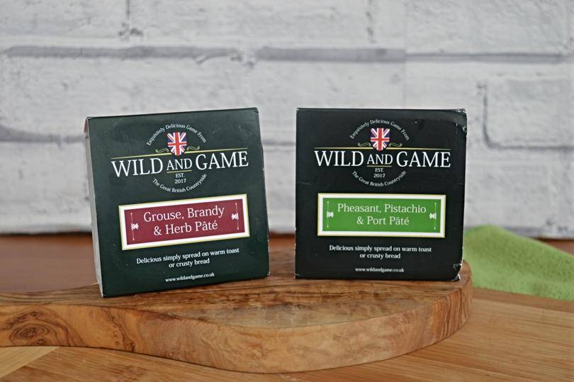 Wild and game pates