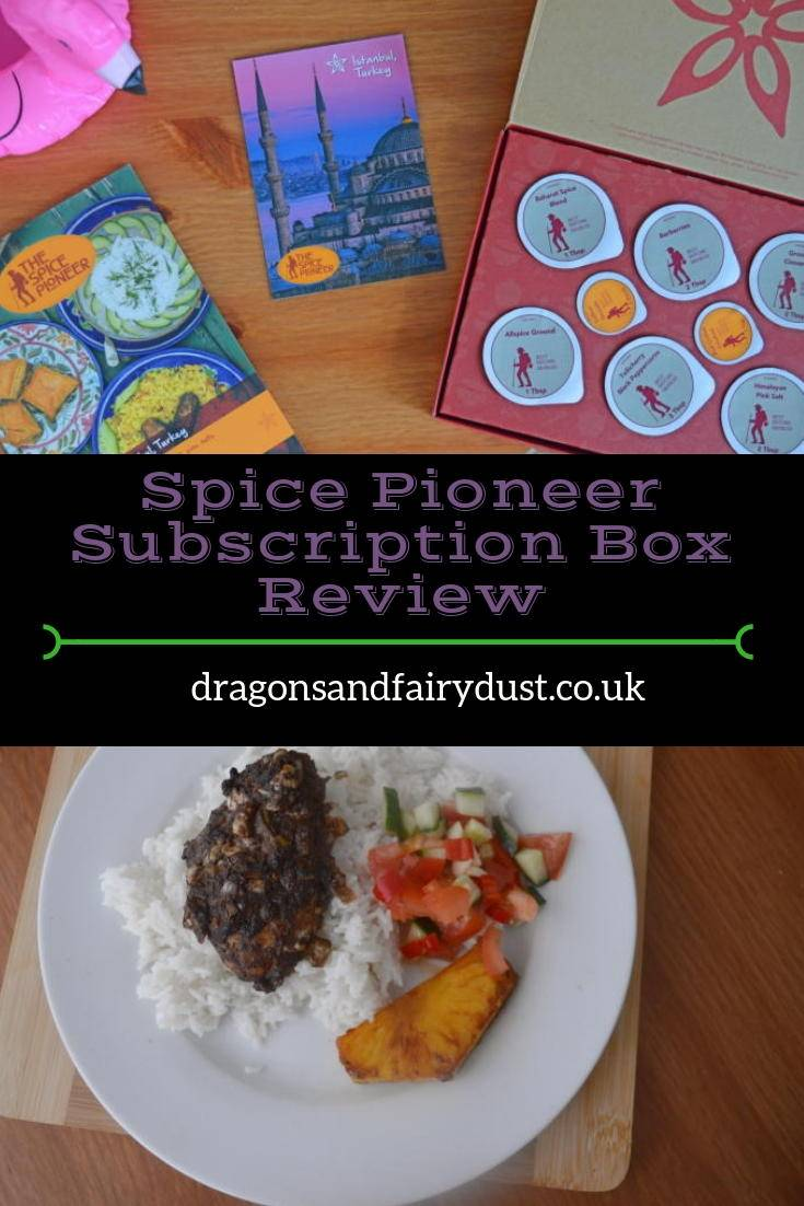 Spice pioneer subscription box - a monthly spice subscription