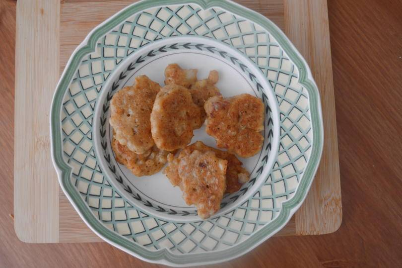 Accras - Caribbean fritters on a plate