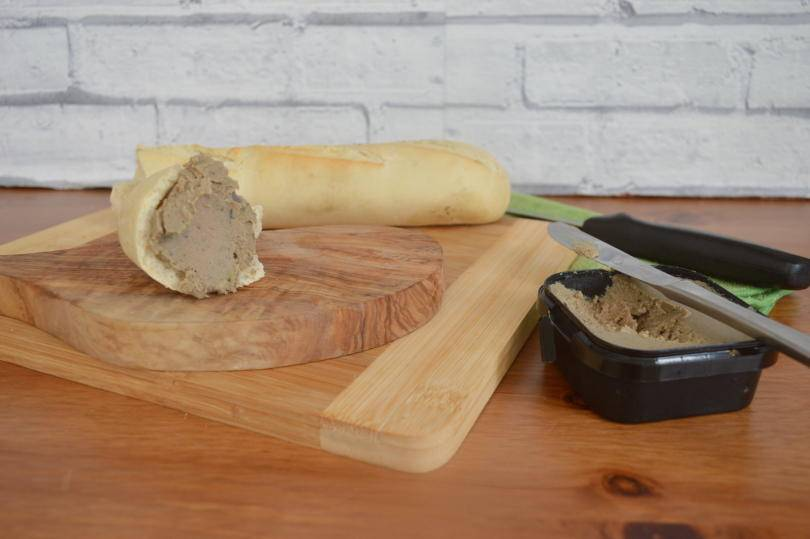 Pate with french bread