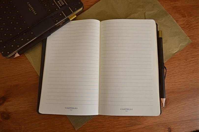 Castelli notebook on desk