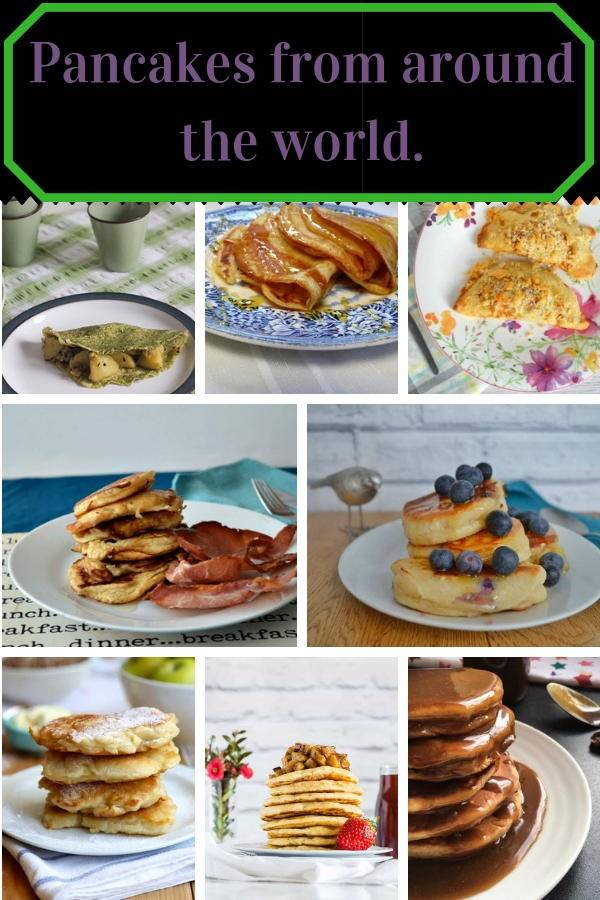 Pancakes from around the world