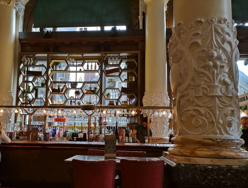 The bar at Revolution Newcastle