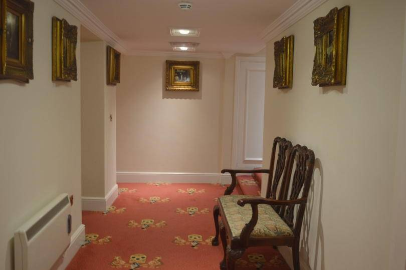 Corridors at Beamish Hall Hotel