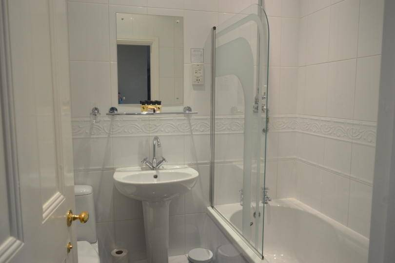 Bathroom at Beamish hall hotel