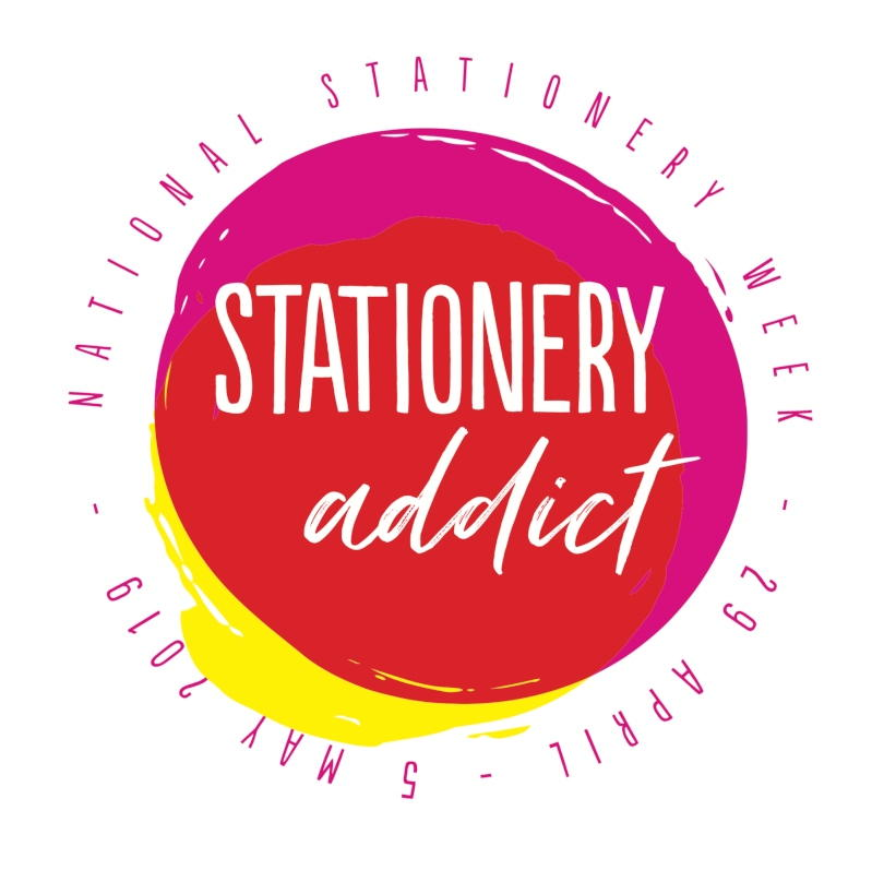 Stationery Addict Badge
