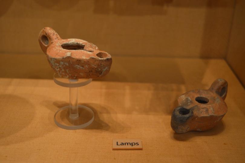A roman oil lamp