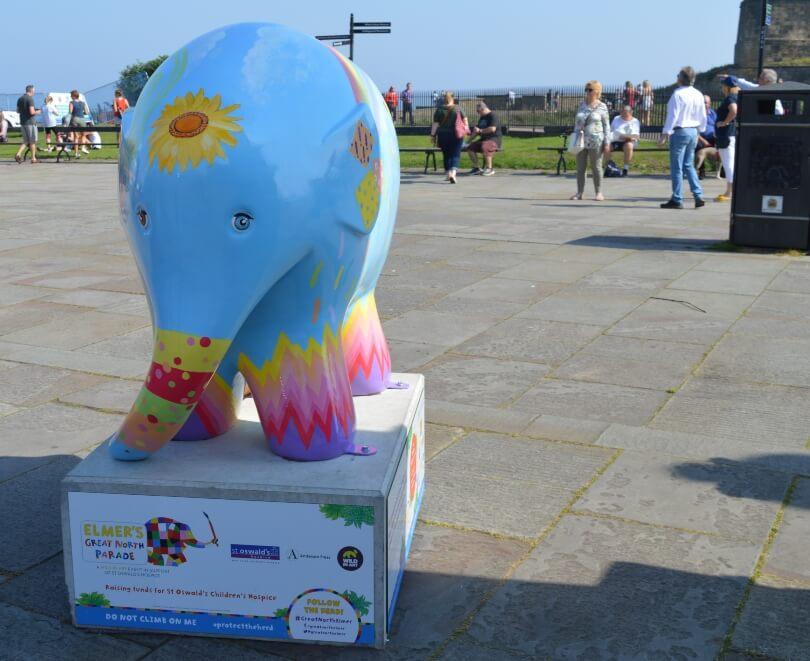 Hope elephant at Tynemout