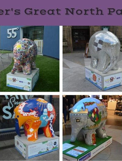 Elephants which you can find on Elmer's Great north parade