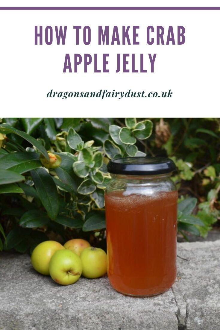 How to make crab apple jelly - a delicious jelly which is perfect with a roast dinner. Its really easy to make - get the recipe