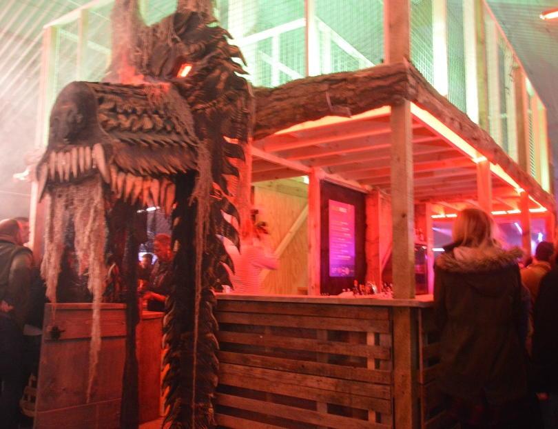 food stall at psycho path
