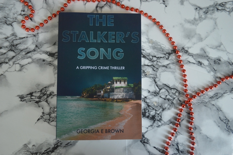 The stalkers song book on a marble background