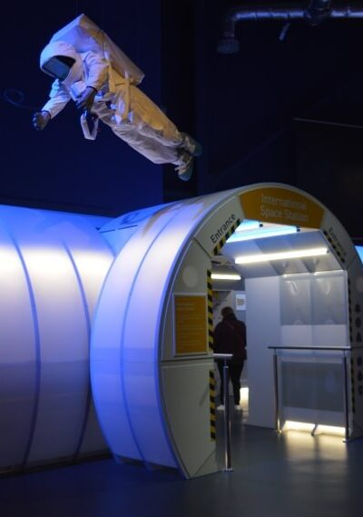 Space station at the Centre for Life