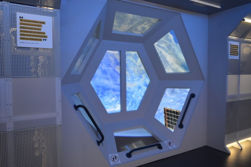 Inside the space station at life science centre