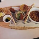 Moroccan sharing board as the Tyneside bar cafe