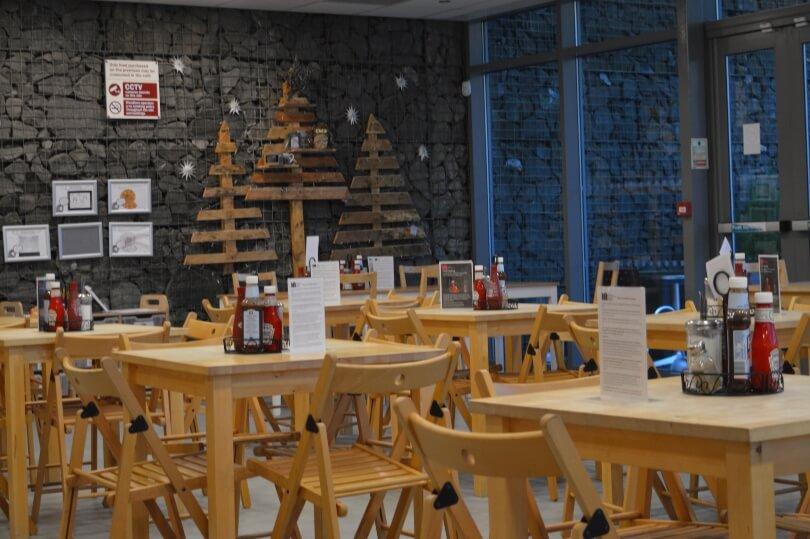 Cafe at woodhorn musuem