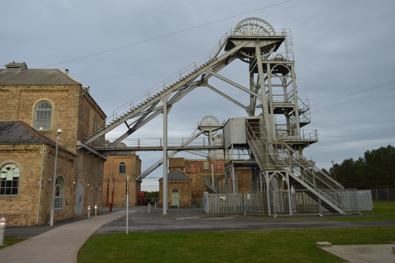 Woodhorn museum remains of the old coliery