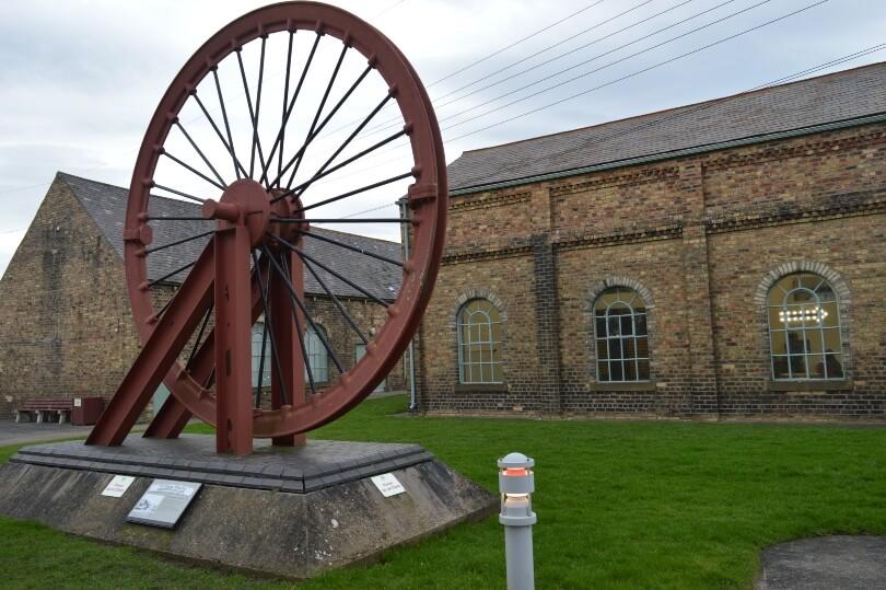 Wheel at woodhorn musuem