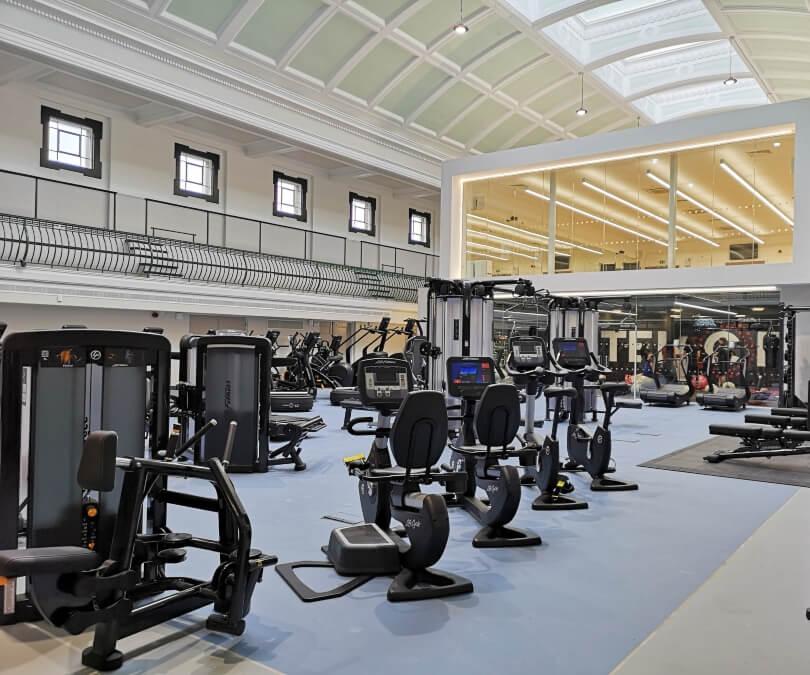 A view inside Newcastle City Gym