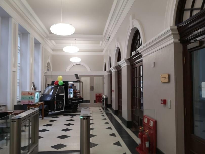 Newcastle City Baths Entrance