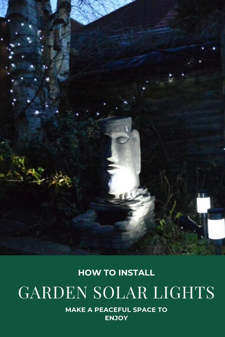 Find out how to install solar lights in your garden to create a tranquil space that looks amazing