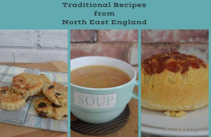 Pictures of some traditional recipes from North East England