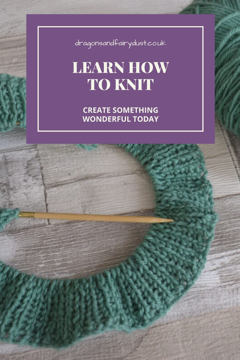 Why not learn how to knit and create something for yourself?