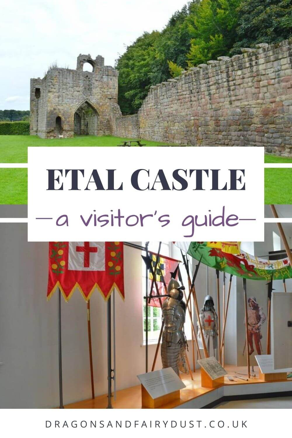 Etal Castle is a medieval stronghold in the village of Etal, Northumberland. Discover what you will find there.